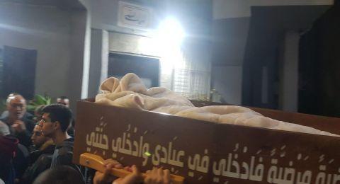 امّ الفحم تشيّع ابنها محمد صبحي جبارين لمثواه الأخير