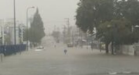 اسرائيل تحذر من تلوث الهواء بسبب عواصف رملية