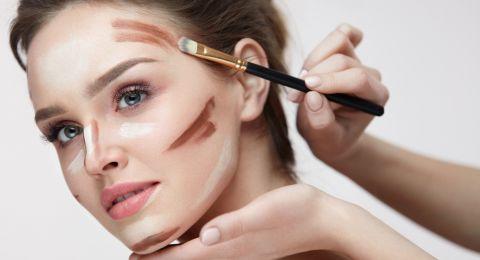 أسهل طريقة لتطبيق الكونتورينغ حسب شكل الوجه