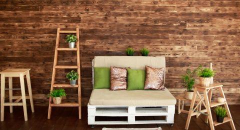 5 أفكار لاستخدام السلالم الخشبية فى ديكور مميز للبيت