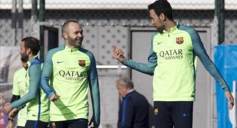 أبرز احداث أمس الرياضية: عودة ثلاثي برشلونة قبل مواجهة أتلتيكو .. بيكهام في ورطة بسبب تسريباته