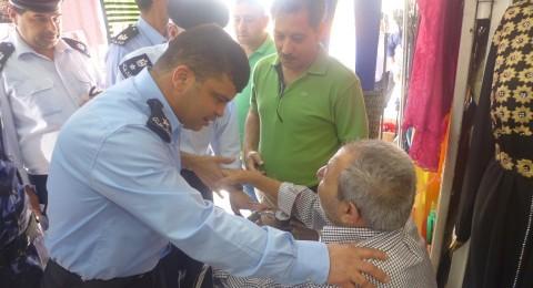الشرطة الفلسطينية تطلق مبادرة
