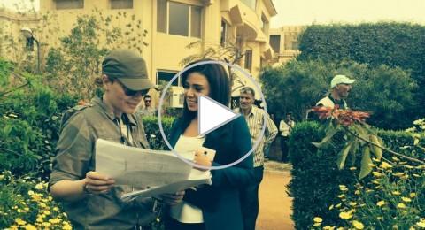 شاهدوا: لحظة الهجوم المسلح على رانيا يوسف