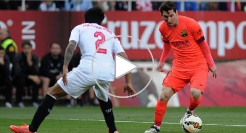اشبيلية يجبر برشلونة على التعادل ويقدم هدية العمر لريال مدريد