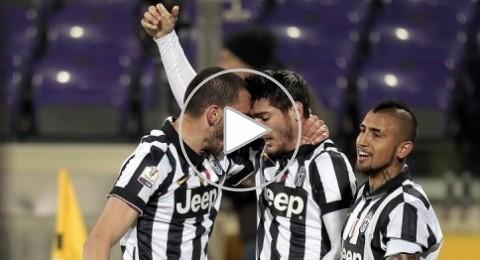 يوفنتوس يضرب فيورنتينا بثلاثية ويتأهل لنهائي كأس ايطاليا