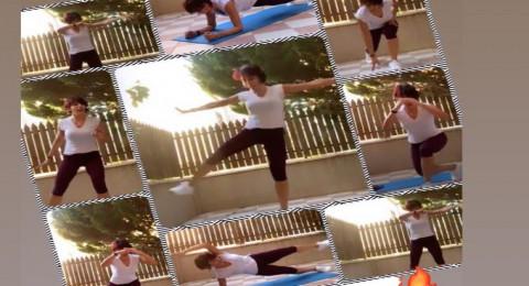 مجموعة من التمارين الرياضية البسيطة، تقدمها لكم المدربة شروق ابو أحمد