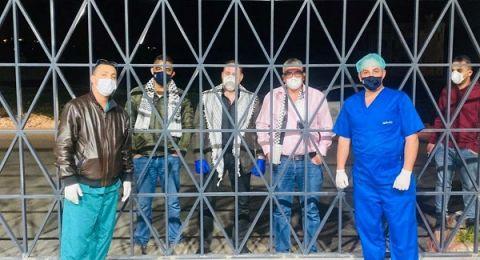 قصة مصابة فلسطينية في مستشفى  هوغو تشافيز ..  كيف تواجه الكورونا؟