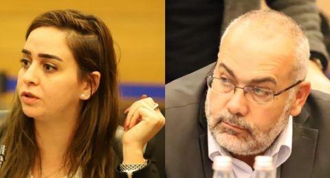 النائبان السعدي وسندس صالح يتوجهان لمدير عام التأمين الوطني بخصوص إنعدام بعض الاستمارات باللغة العربية
