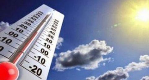 حالة الطقس:أجواء حارة وارتفاع ملموس على درجات الحرارة