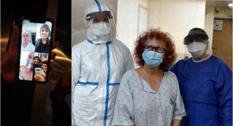 الكورونا – أخبار جيدة: حالة المصاب محمد ذياب تحسنت وتحدث مع عائلته، والمسنة الأمريكية شفيت