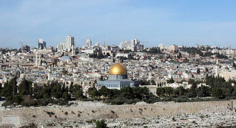 إسرائيل تطرح مخططًا لبناء نفق سكة حديد على تخوم الأقصى