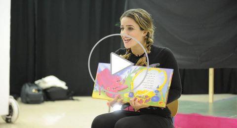 الفنانة هيام ذياب تواصل التعليم عن بعد لطلاب المدارس الابتدائية