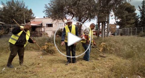 مطالبة بلدية الناصرة بمضاعفة عمال النظافة في احياء المدينة