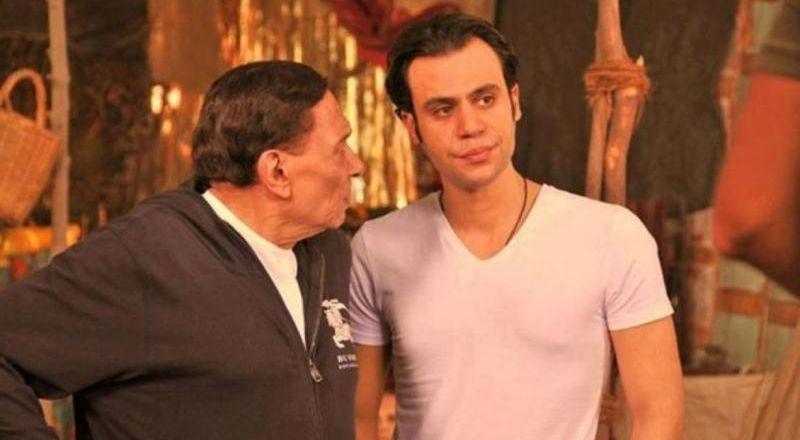 صورة نادرة لـ محمد إمام في طفولته مع والده الزعيم عادل إمام