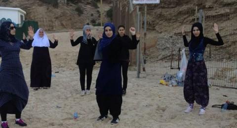 تمام بدير من كفر قاسم: المس اقبال من النساء العربيات لممارسة الرياضة
