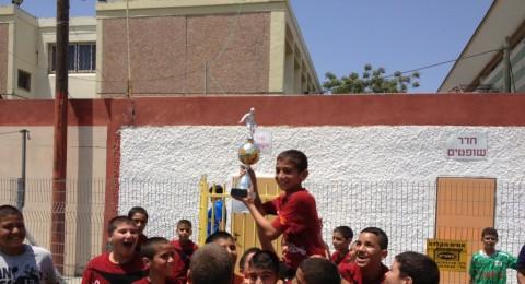 مدرسة كرة القدم بعيلوط تحصد بطولة جمعية حولون