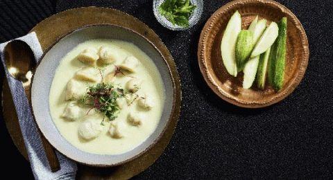 وجبة مُميّزة من تنوفا..ششبرك، وسمك مع اليوغورت