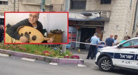 جريمة الناصرة: توفيق زهر اصيب بعيار ناري اُطلق تجاه محل تجاري!
