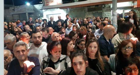 الناصرة: وقفة صامتة لذكرى ضحية العنف والجريمة  توفيق الزهر