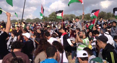 المتابعة تدعو لأوسع مشاركة في مسيرة العودة على أراضي قرية خبيزة