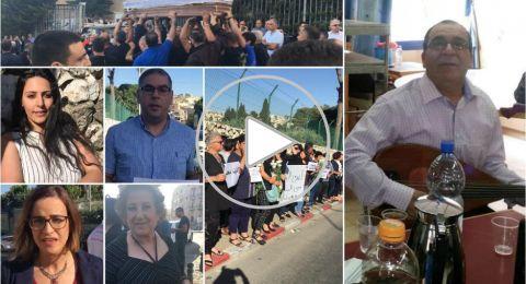 ردود فعل ساخطة خلال جنازة الفنان توفيق زهر .. والإعلان عن خطوات احتجاجية