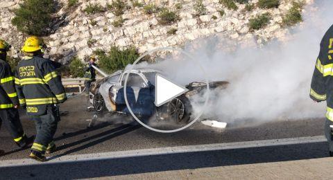 نتسيرت عليت: انفجار سيارة واصابة شابين من الرينة