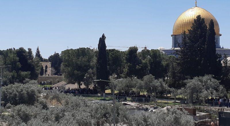 الشرطة الاسرائيلية تعزز قواتها بالقدس استعداد للجمعة الأولى من رمضان