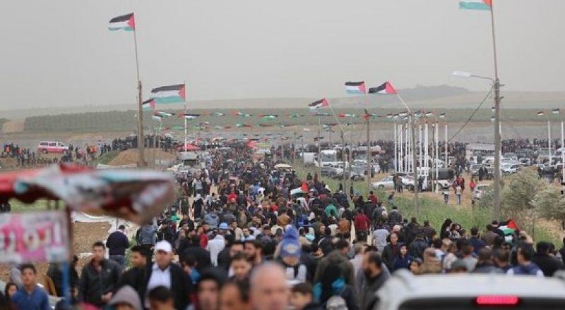 غزة، هيئة مسيرات العودة: اضراب شامل في 15 أيار