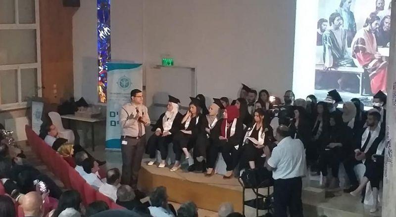 مدرسة الناصرة الأكاديمية للتمريض تخرّج الفوج ال 23 لطلاب التمريض
