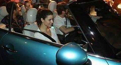 سيارة زوج بيرين سآت تخطف الأضواء منها!