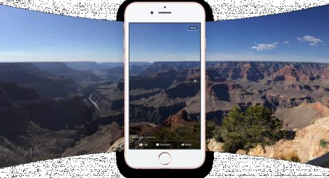 فيس بوك تطلق ميزة 360 Photos لتحويل أي صورة بانورامية إلى تجربة غامرة