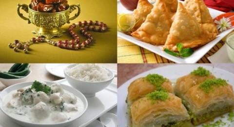 أطباق رمضانية: سمبوسك باللحم، شيشبرك وبقلاوة