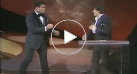 فيديو: محمد علي كلاي يهاجم