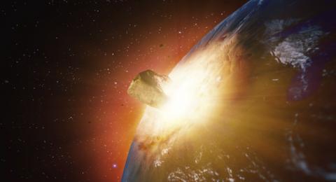 كويكب عملاق يهدد بفناء ربع سكان الأرض!