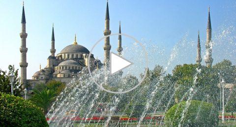 زيارة إلى جامع السُلطان احمد في اسطنبول