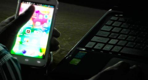 بحث:  ضوء الأجهزة الإلكترونية الأزرق