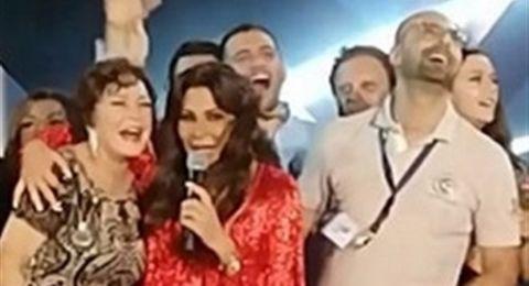 ماذا قالت اليسا للفنانة المصرية لبلبة التي حضرت خصيصاً لمشاهدتها!