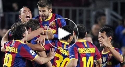 برشلونة تهزم روبين كازان 2-0