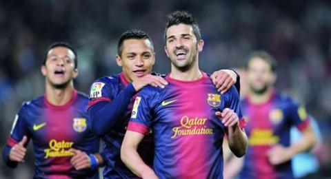 بدون ميسي ..برشلونة يفوز على قرطبة (5-0)