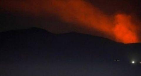 طائرات إسرائيلية تقصف مطار دمشق وريفها