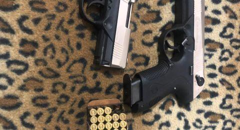 ضبط اسلحة وذخيرة في مخيم شعفاط واعتفال مشتبهين