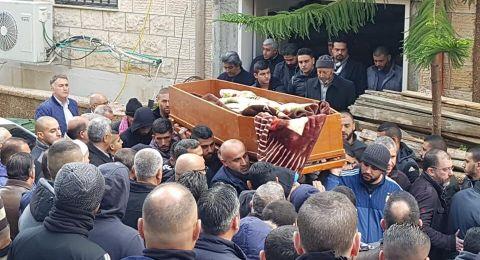 ام الفحم تشيّع  الفتى محمد سمير محاميد لمثواه الأخير .. نجل رئيس البلدية