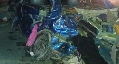 حادث طرق في النقب يؤدي إلى وقوع اصابتين