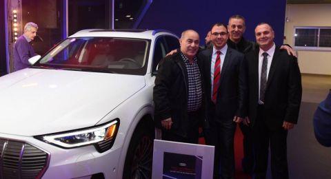 إفتتاح ترمينال Audi الأول في البلاد التابع لشركة الدر الناصرة