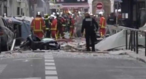 انفجار في باريس، ينتج عنه اصابات عدة