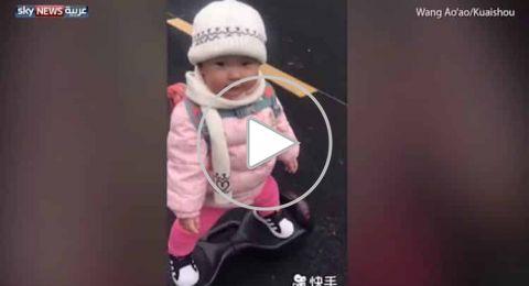 الرضيعة المحترفة تذهل العالم بعمر 14 شهرا