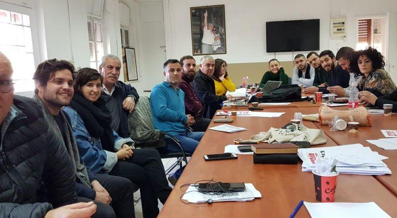 الجبهة تعقد اجتماعا وتؤكد على ضرورة تعزيز المشتركة