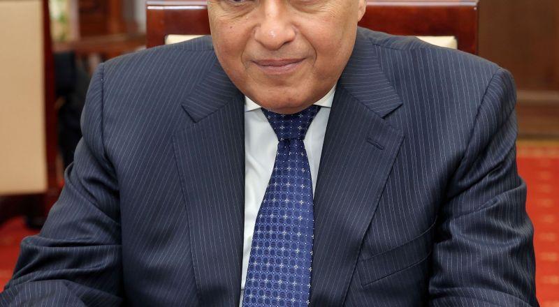 وزير الخارجية المصري: عودة سوريا للجامعة العربية مرهون بقرار من مجلسها