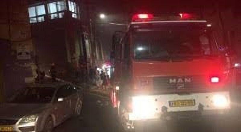 الناصرة: اندلاع حريق بكراج تحت منزل،دون وقوع اصابات