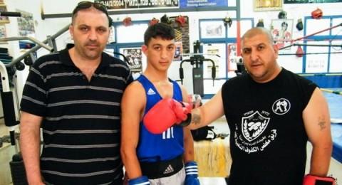الملاكم البطل صبحي امارة يسافر الى هنغاريا للتحضير لبطولة اوروبا
